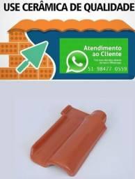 Telhas Portuguesas Naturais e Esmaltadas -Direto da Cerâmica