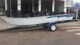 Barco Alumínio e Carreta - 2001
