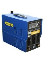 Máquina de corte plasma Weld Vision LG40E trifásica 380v com tocha 4,2 metros + regulador