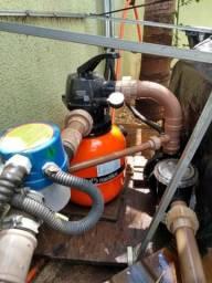 Sistema de Filtragem e Aquecimento para Piscina