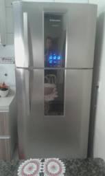 Vendo geladeira duplex 553 litros electrolux inox