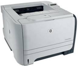 Impressora Laser PB HP 2055dn, Rede, Duplex, Toner Novo para 7 mil paginas, Revisada