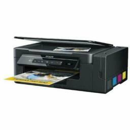 Multifuncional Epson Ecotank L395, Preto, Impressora, Copiadora, Scanner, Wi-Fi