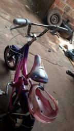 Bicicleta infantil menina só 130 reais