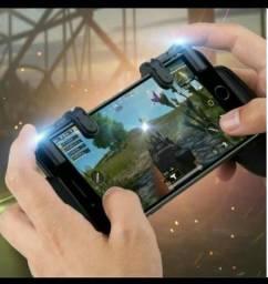 Gatilhos L1+R1 e Suporte Mobile GamePad