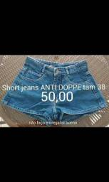 1 Short jeans Anti Doppe tam 38 original novo