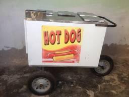Carrinho de cachorro quente a venda