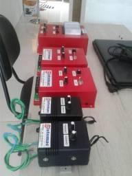 Excitatriz estatica eletronica para geradores