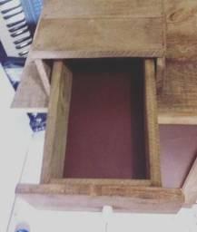 Mesa (escrivaninha) artesanal para escritório