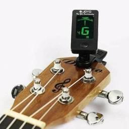 Afinador Digital de Violão Guitarra Baixo com Presilha