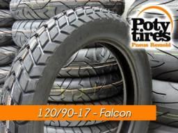 Pneus XRE/Bros/Falcon/Tornado = $ 125,00(Colocado)
