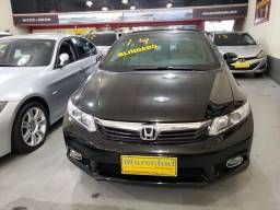 Honda civic 2013/2014 2.0 lxr blindado flex 4p automático - 2014