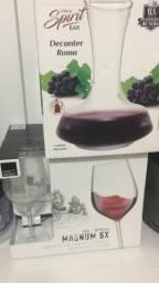 Conjunto para vinho