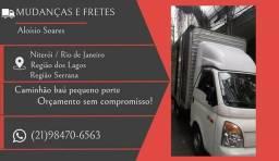 Caminhão baú para fretes em Icarai