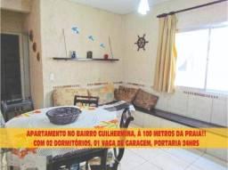 Apartamento com 2 dormitórios à venda, 68 m² por R$ 260.000,00 - Vila Guilhermina - Praia