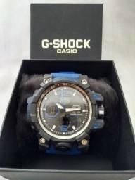 d20b42fda64 Relogio g shock com pulseira azul