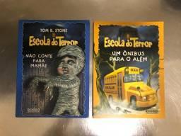 Livros Escola do Terror E Fantasmas da Rua do Medo