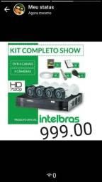 Kit CFTV Intelbras Completo