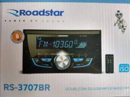 Radio Automotivo 2 din Roadstar