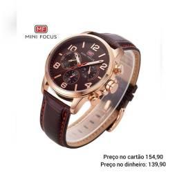 Relógio masculino original Mini Focus exclusivo