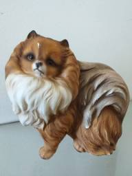 Lulu da pomerânia em porcelana Inglesa