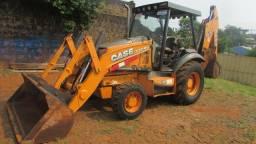 Retro escavadeira Case 580N