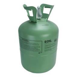 Garrafa de gás ar condicionado vazia