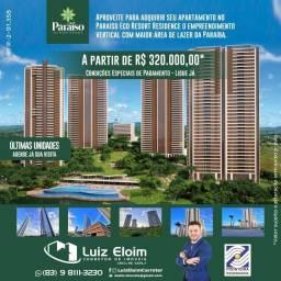 Aproveite para adquirir seu apartamento no Paraíso Eco Resort. Obras avançadas, Ligue Já!