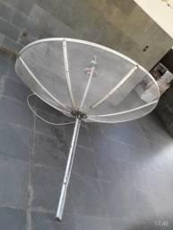 Vendo Antena parabólica com receptor
