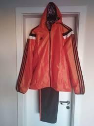 Título do anúncio: Agasalho Adidas Style original NOVO Tam M.