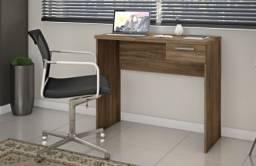 Escrivaninha Nt2000 Office Nogal #Entrega E Montagem Grátis