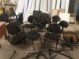 Cadeiras usadas p consertar