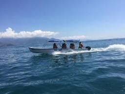 Lancha táxi boat 40 hp