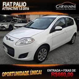 Fiat Palio Attractive 1.0 2016 Completo