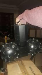 Globo de luz giratório/ iluminação de festa