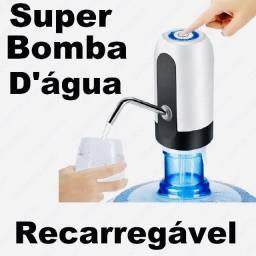 Bebedouro Agua Bomba Galão Elétrica Recarregável