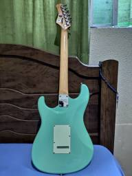 Guitarra Tagima T635 Classic Surf Green Regulada!