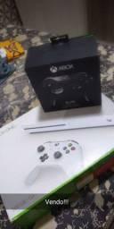 Xbox One S Completo e Controle Elite