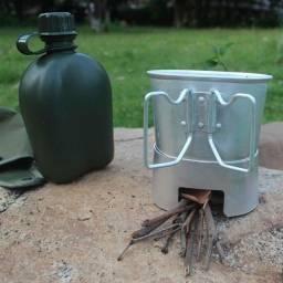 Cantil NTK com caneca e espiriteira de alumínio Apache