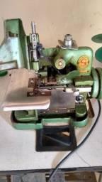 Máquina overlock semi-industrial