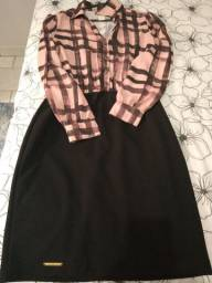 Vestido Clara Rosa