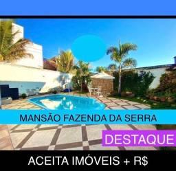 Título do anúncio: Fazenda da Serra Casa Top, Troca Permuta, Venda. 4 quartos na Divisa Castelo c Paqueta