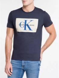 Camiseta Calvin Klein Jeans Issue Retângulo