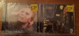 Kit 2 CD's DAVID BOWIE originais lacrados