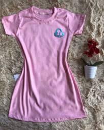 vestido infantil tecido canlado