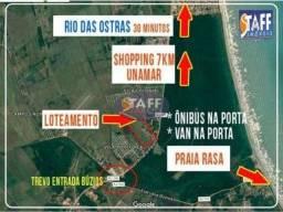 OLV#4#Terreno à venda, 202 m² por R$ 25.000,00 - Unamar - Cabo Frio/RJ