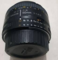 Lente Intercambiável Nikkor AF 50MM F/1.8D - Nikon