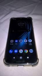 Troco Moto g7 Power 32Gb por Samsung j8