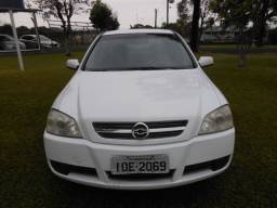 Astra sedan advantage 2.0 2008 branco com kit gnv