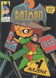 Kit Animado - 4 revistas em quadrinhos baseadas em desenhos (Batman e Condorito)